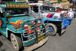 Džipi v mestu Baguio na Filipinih