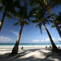 Bela plaža na otoku Boracay je najbolj znana plaža na Filipinih