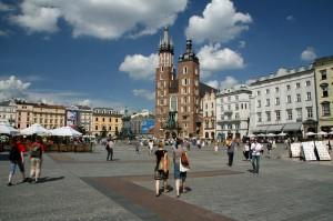Glavni trg v Krakovu