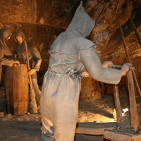 Rudnik soli Wieliczka blizu Krakova na Poljskem