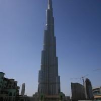 Najvišji nebotičnik na svetu Burj Khalifa v Dubaju