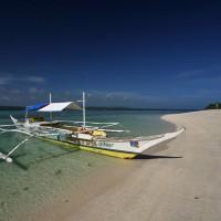 Mali Deviški otok blizu otoka Bantayan na Filipinih