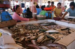 Morska hrana na otoku Bantayan na Filipinih je običajno sveža in okusna