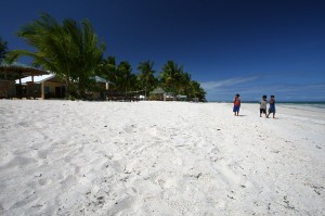 Alice Beach na otoku Bantayan na Filipinih