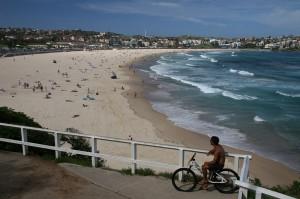 Plaža Bondi blizu Sydneya