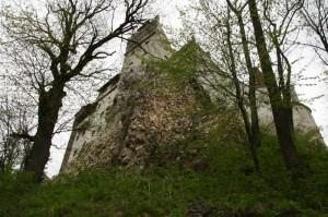 Grad grofa Drakule v transilvanski vasi Bran