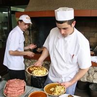Ceasul Rau je odlična romunska restavracija v Brasovu