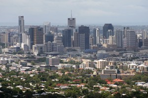 Pogled na Brisbane