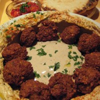 Falafel v Hummus Baru, Budimpešta