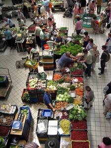 Tržnica Lehel v Budimpešti