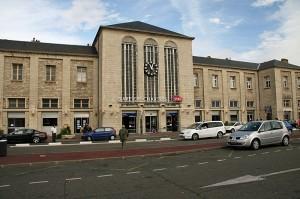 Železniška postaja v Chartresu
