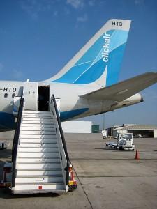 Letalo prevoznika Clickair