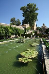 Vrtovi Alcazarja, Cordoba