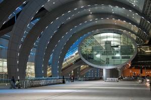 Sodobno letališče Dubaj