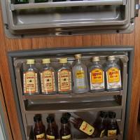 Minibar v hotelski sobi hotela Ejido