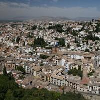 Mavrsko naselje na griču Albaicin v Granadi