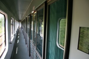 Vlak Varšava-Krakov