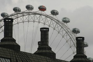 London Eye je ena od najbolj znanih znamenitosti Londona