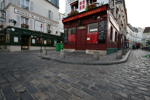 Montmartre v Parizu