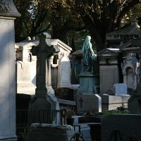 Pokopališče Montmartre v Parizu