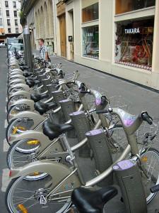 Pariz ima sistem izposoje koles