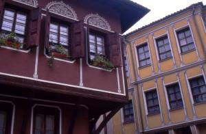 Staro mestno jedro v Plovdivu