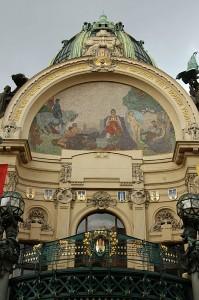 Mestna hiša v Pragi