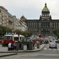 Vaclavov trg v Pragi