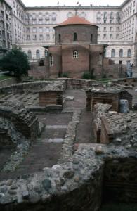Rotunda sv. Janeza na dvorišču hotela Sheraton v Sofiji