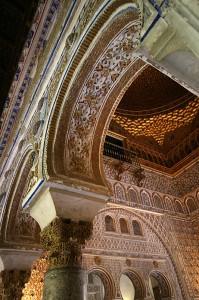 Palača Real Alcazar v Sevilli