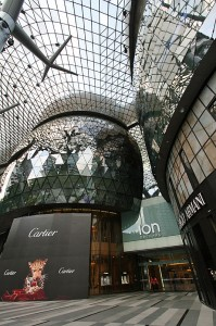 Nakupovalni center ION Orchard v Singapurju