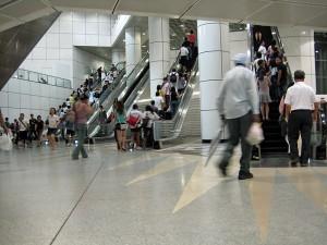 Postaja podzemne železnice v Singapurju