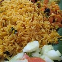 Hrano v restavraciji Sri Kamala Vilas postrežejo na bananinem listu