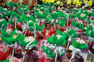 Festival Sinulog v Cebu Cityju na Filipinih