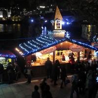 Božični sejem Southbank v Londonu
