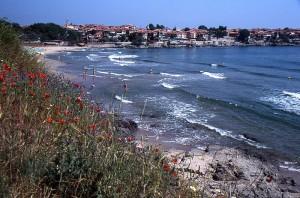 Sozopol na obali Črnega morja v Bolgariji