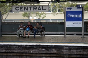 Železniška postaja Central v Sydneyu