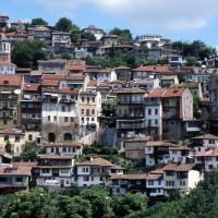 Slikovito Veliko Tarnovo v Bolgariji