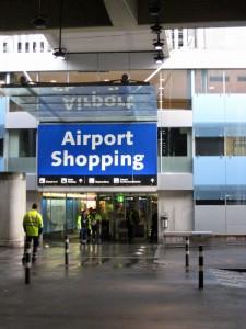Nakupovanje na letališču Zürich