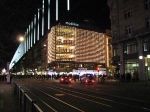 Večer v Zürichu