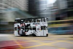 Dvonadstropni tramvaj v Hong Kongu
