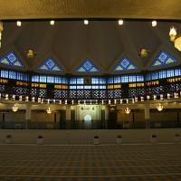 Molilnica v nacionalni mošeji v Kuala Lumpurju