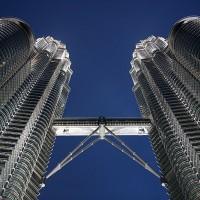 Petronas Twin Towers v Kuala Lumpurju