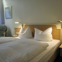 Soba 241 v hotelu Ambiente v Münchnu