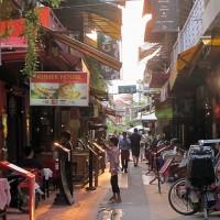 Siem Reap v Kambodži