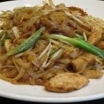 Pad Thai v tajski restavraciji Rosa's v Londonu