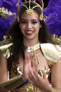 Karneval Notting Hill v Londonu