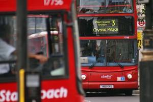 Avtobusi v Londonu