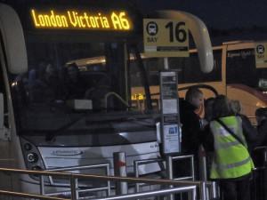 Prevoz Stansted-London