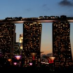 V zakulisju hotela Marina Bay Sands Singapur